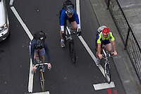 Commuting cyclists..London , May 2009..pic copyright Steve Behr / Stockfile