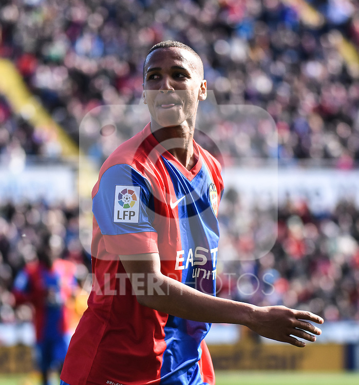Levante's    Deyverson   during La Liga match. February 7, 2016. (ALTERPHOTOS/Javier Comos)