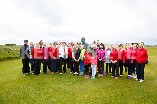 Wind, Rain and everything else didn't deter this group of women from South Kerry from taking part in 'International Womens Golf Day' at Waterville Golf Links on Tuesday, with a golf clinic, a 9 hole scramble and a social gathering in the Club House after.