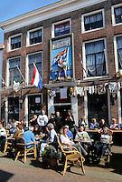 Cafe in Brielle. Geuzengesticht Wilhelmus van Nassauen