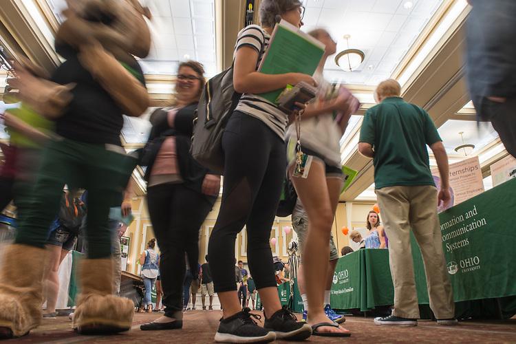 The 2016 Ohio University Majors Fair was held at the Baker Center Ballroom on Wednesday, September 14, 2016.
