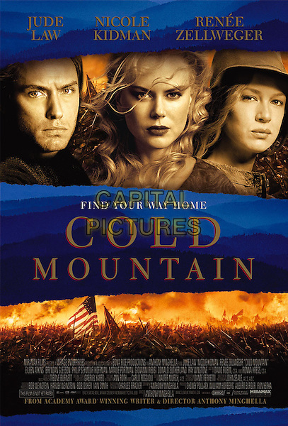 POSTER ART.Cold Mountain.Filmstill - Editorial Use Only.Ref: FB.www.capitalpictures.com.sales@capitalpictures.com.Supplied by Capital Pictures