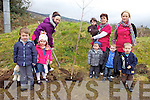 Planting a tree from National Tree Week and the beginning of their community garden were staff and children from Camp Community Childcare Centre on Thursday morning. Pictured were: Jeannine Sheehy, Cathal Kennedy, Ciara O'Connor, Gearoid Hingston, Sheila Griffin, Samantha Quirke, George Martin, Rian Marcham and Aleksander Polanczyk.