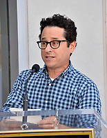 LOS ANGELES, USA. August 06, 2019: Director JJ Abrams at the Hollywood Walk of Fame star ceremony honoring director Guillermo del Toro.<br /> Picture: Paul Smith/Featureflash