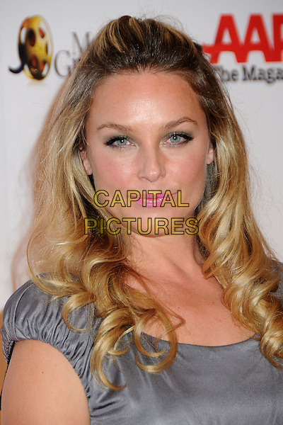"""ELISABETH ROHM.9th Annual AARP Magazine """"Movies For Grownups"""" Awards Gala held at The Beverly Wilshire Hotel, Beverly Hills, California, USA..February 16th, 2010.headshot portrait pink lipstick make-up beauty elizabeth grey gray blue .CAP/ADM/BP.©Byron Purvis/AdMedia/Capital Pictures."""