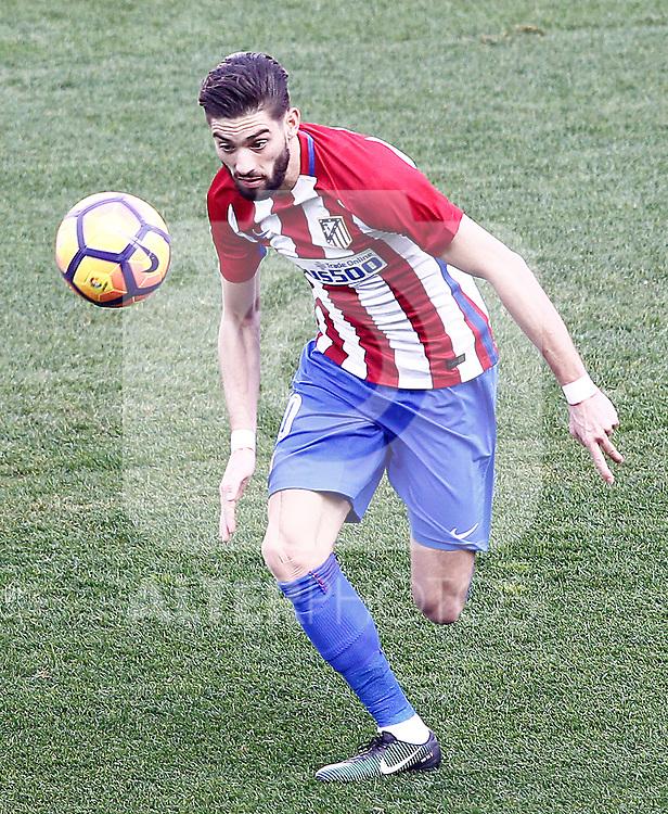 Atletico de Madrid's Yannick Ferreira Carrasco during La Liga match. February 26,2017. (ALTERPHOTOS/Acero)