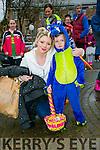 Tir na Nog Easter Festival - Under 12 Kids Fancy Dress Fun Run in Tralee Town Park were l-r  Rebecca Birch and Summer Birch