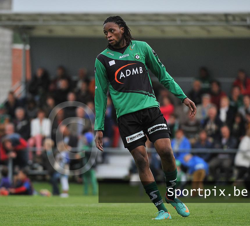 SVV Damme - Cercle Brugge : Junior Kabananga<br /> foto VDB / Bart Vandenbroucke