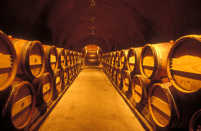 Cellar at Far Niente Winery