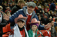 Wales fans in good sprits during the game <br /> <br /> Photographer Ian Cook/CameraSport<br /> <br /> 2019 Autumn Internationals - Wales v Barbarians - Saturday 30th November 2019 - Principality Stadium - Cardifff<br /> <br /> World Copyright © 2019 CameraSport. All rights reserved. 43 Linden Ave. Countesthorpe. Leicester. England. LE8 5PG - Tel: +44 (0) 116 277 4147 - admin@camerasport.com - www.camerasport.com