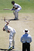 November 5th 2017, WACA Ground, Perth Australia; International cricket tour, Western Australia versus England, day 2; Western Warriors Josh Philippe prepares for the shot as England player Chris Woakes bowls