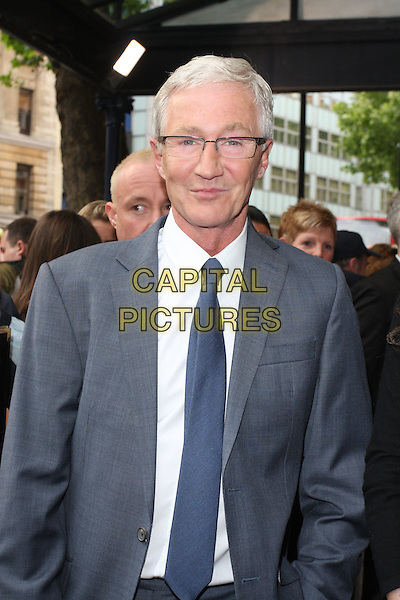 PAUL O'GRADY.'Pygmalion' Press Night at the Garrick Theatre, London, England..May 25th 2011.half length blue tie white shirt grey gray suit jacket glasses .CAP/ROS.©Steve Ross/Capital Pictures