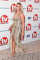 LONDON, UK. September 10, 2018: Megan Barton Hanson at the TV Choice Awards 2018 at the Dorchester Hotel, London.<br /> Picture: Steve Vas/Featureflash