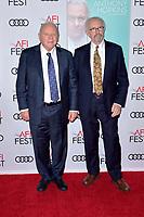 Anthony Hopkins und Jonathan Pryce beim Gala Screening des Kinofilms 'The Two Popes / Die zwei Päpste' auf dem AFI Fest 2019 im TCL Chinese Theatre. Los Angeles, 18.11.2019