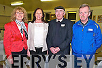 Listowel Community College Celebrations: Attending the Listowel Community College celebrations of colleges County Kerry Vocational Schools Senior Championship Winning teams at the College on Friday nigh last were Joan Byrene, Carmel Nolan representing the late Todd Nolan (1964) , John Galvin (1964) & Dan Kennelly.