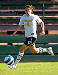 31 August 2007: University of Vermont Catamounts' Lexie Kaknes, a Junior from St. Charles, IL, in action against the University of Central Arkansas Sugar Bears at Historic Centennial Field in Burlington, Vermont. The Catamounts defeated the Sugar Bears 1-0 during the TD Banknorth Soccer Classic...Mandatory Photo Credit: Ed Wolfstein Photo