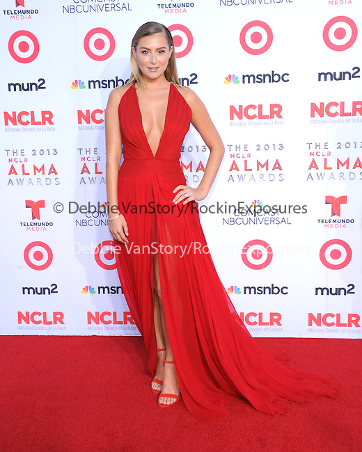 Alexa Vega  attends The 2013 NCLR ALMA Awards held at the Pasadena Civic Auditorium in Pasadena, California on September 27,2012                                                                               © 2013 DVS / Hollywood Press Agency