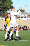 Torrance, CA 01/24/12 - unidentified West Torrance player(s) in action during the Peninsula vs West Torrance CIF Bay league game.