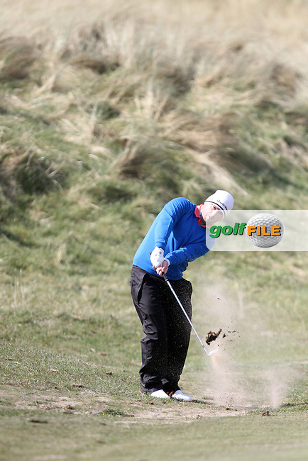 Richard Bridges (Stackstown) on the 17th during Round 1 of the West of Ireland Amateur Open Golf Championship 2013 at Co.Sligo Golf Club, Rosses Point, Co.Sligo. 29/03/2013..(Photo Jenny Matthews/www.golffile.ie)