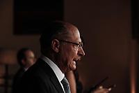 SÃO PAULO, SP, 03.04.2017 - FÓRUM -BRASIL SUÉCIA - o Governador Geraldo Alckmin durante Fórum de Líderes Empresariais Brasil-Suécia, no Palácio dos Bandeirantes, na tarde desta segunda-feira, 03.(Foto: Adriana Spaca/Brazil Photo Press)