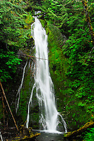 Marymere Falls, Olympic National Park, Washington, US