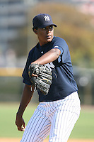March 17th 2008:  Dickson Marquez of the New York Yankees minor league system during Spring Training at Legends Field Complex in Tampa, FL.  Photo by:  Mike Janes/Four Seam Images
