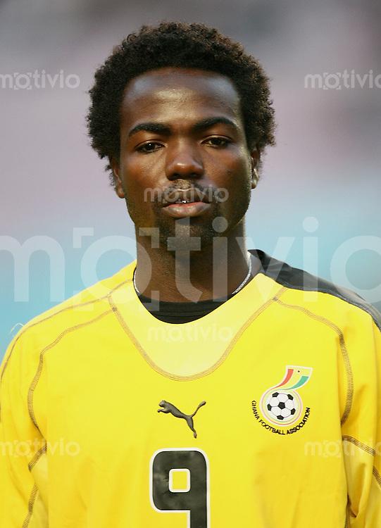 Fussball International Testspiel Tunesien 2-0 Ghana Prince Tagoe (GHA), Portraet