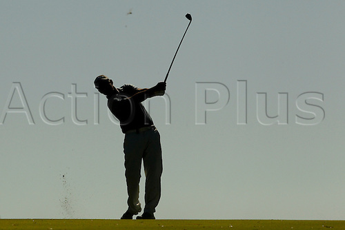 February 19th 2017, Lake Karrinyup Country Club, Perth, Western Australia, Australia; ISPS Handa World Super 6 Perth Golf Tournament Day 4; Matthew Millar (AUS)plays an approach shot from the 6th fairway during his knockout game against Casey O'tool (USA)