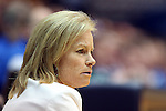 22 February 2013: FSU head coach Sue Semrau. The Duke University Blue Devils played the Florida State University Seminoles at Cameron Indoor Stadium in Durham, North Carolina in a 2012-2013 NCAA Division I and Atlantic Coast Conference women's college basketball game. Duke won the game 61-50.