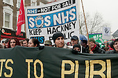 Hackney Alliance to Defend Public Services march.