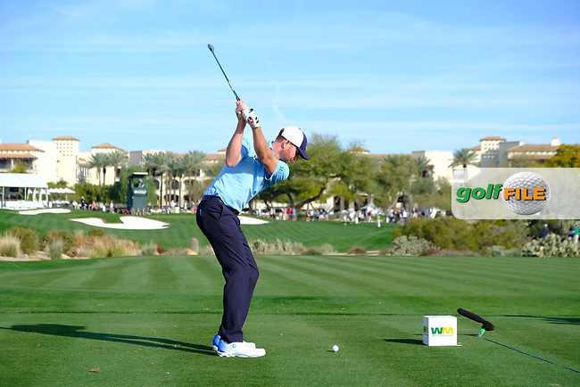 Vaughn Taylor (USA) during the 1st round of the Waste Management Phoenix Open, TPC Scottsdale, Scottsdale, Arisona, USA. 31/01/2019.<br /> Picture Fran Caffrey / Golffile.ie<br /> <br /> All photo usage must carry mandatory copyright credit (&copy; Golffile | Fran Caffrey)