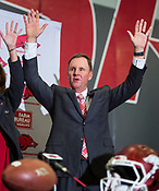 New Razorbacks AD and Football Coach