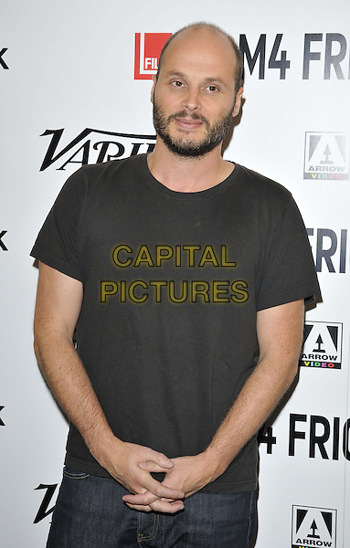 LONDON, ENGLAND - AUGUST 25: Fabrice Du Welz attends the &quot;Alleluia&quot; UK film premiere, Film4 FrightFest day 5, Vue West End cinema, Leicester Square, on Monday August 25, 2014 in London, England, UK. <br /> CAP/CAN<br /> &copy;Can Nguyen/Capital Pictures
