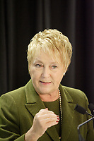 Montreal (qc) CANADA -  Dec 2011 file photo -<br />  - Pauline Marois , leader of Parti Quebecois