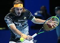 Greek player Stefanos Tsitsipas (GRE)<br /> London 16/11/2019 O2 Arena <br /> Tennis Nitto ATP Finals 2019 <br /> Photo Melanie Jeusette / Panoramic/ Insidefoto