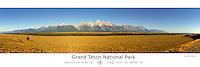 Grand Teton National Park with Latitude and Longitude