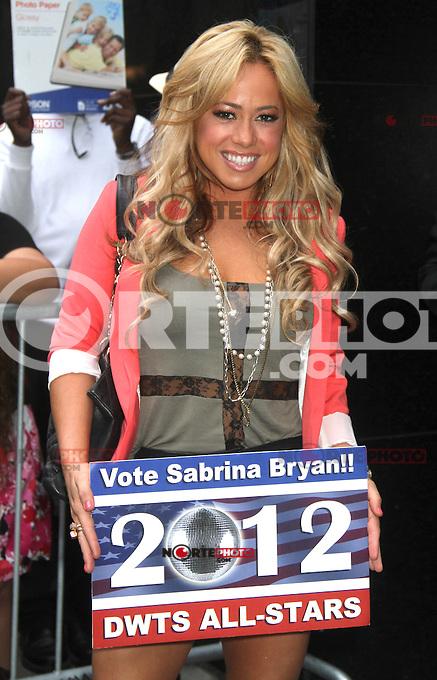 NEW YORK, NY - JULY 30,2012: Sabrina Bryan at Good Morning America Studios in New York City. &copy;&nbsp;RW/MediaPunch Inc. *NOrtePhoto.com<br /> <br /> **SOLO*VENTA*EN*MEXICO**<br />  **CREDITO*OBLIGATORIO** *No*Venta*A*Terceros*<br /> *No*Sale*So*third* ***No*Se*Permite*Hacer Archivo***No*Sale*So*third*&Acirc;&copy;Imagenes*con derechos*de*autor&Acirc;&copy;todos*reservados*.