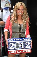 NEW YORK, NY - JULY 30,2012: Sabrina Bryan at Good Morning America Studios in New York City. ©RW/MediaPunch Inc. *NOrtePhoto.com<br /> <br /> **SOLO*VENTA*EN*MEXICO**<br />  **CREDITO*OBLIGATORIO** *No*Venta*A*Terceros*<br /> *No*Sale*So*third* ***No*Se*Permite*Hacer Archivo***No*Sale*So*third*©Imagenes*con derechos*de*autor©todos*reservados*.