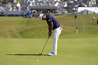 Hideto Tanihara (JPN) putts on the 1st green during Thursday's Round 1 of the Dubai Duty Free Irish Open 2019, held at Lahinch Golf Club, Lahinch, Ireland. 4th July 2019.<br /> Picture: Eoin Clarke | Golffile<br /> <br /> <br /> All photos usage must carry mandatory copyright credit (© Golffile | Eoin Clarke)