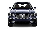 Car photography straight front view of a 2019 BMW X5 x Line 5 Door SUV