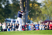 Phil Mickelson (Team USA) on the 6th during the Saturday morning Foursomes at the Ryder Cup, Hazeltine national Golf Club, Chaska, Minnesota, USA.  01/10/2016<br /> Picture: Golffile | Fran Caffrey<br /> <br /> <br /> All photo usage must carry mandatory copyright credit (&copy; Golffile | Fran Caffrey)