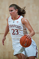 STANFORD, CA - NOVEMBER 9: Jeanette Pohlen at Maples Pavilion, November 9, 2010 in Stanford, California.
