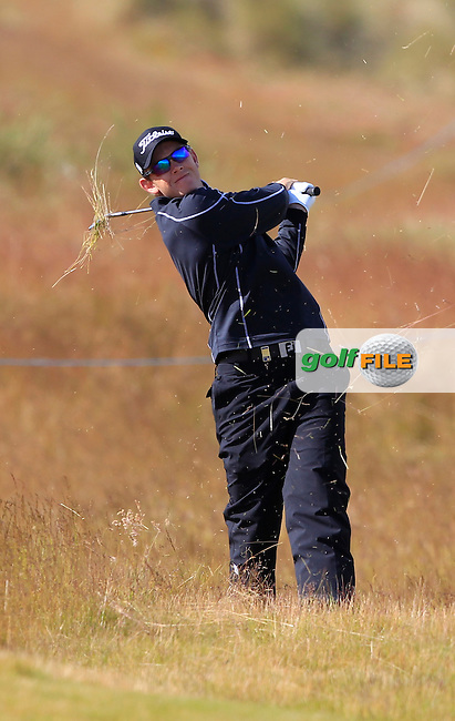 Joachim B. Hansen (DEN) during the first round of the Aberdeen Asset Management Scottish Open 2016, Castle Stuart  Golf links, Inverness, Scotland. 07/07/2016.<br /> Picture Fran Caffrey / Golffile.ie<br /> <br /> All photo usage must carry mandatory copyright credit (&copy; Golffile | Fran Caffrey)