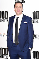 director, Jim O'Hanlon<br /> at the &quot;100 Streets&quot; UK premiere, Bfi South Bank, London.<br /> <br /> <br /> &copy;Ash Knotek  D3195  08/11/2016