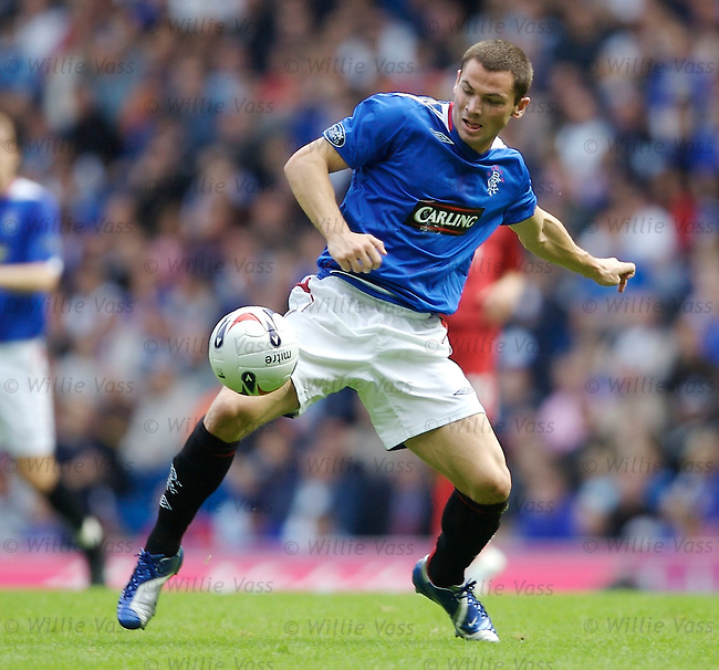 Phil Bardsley, Rangers.stock season 2006-2007.pic willie vass