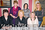 Celebrating Women's Christmas at Mai Fitz's Restaurant, Listowel on Friday night last were in front Breda Gaire Walsh, Cathriona Houlihan & Deidre Bamburt, Back : Kay Gaire, Marian Houlihan & Breda Mulvihill.