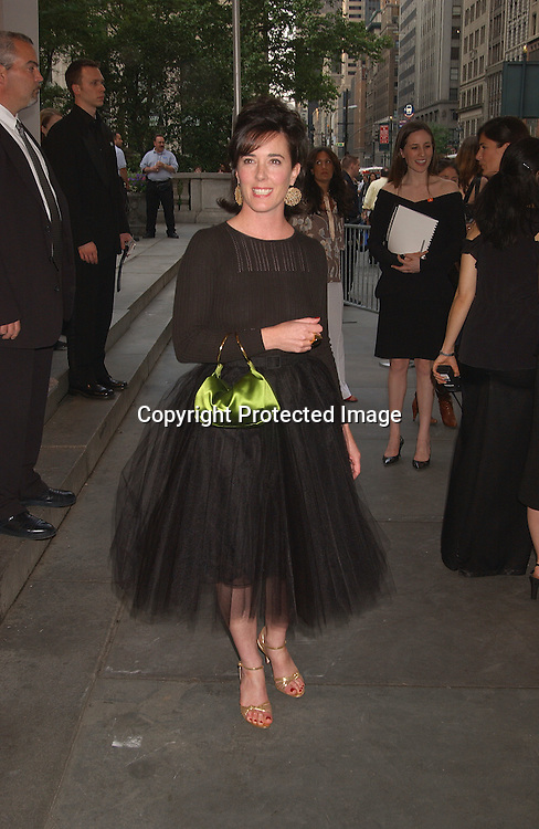 Kate Spade                               ..at the CFDA Fashion Awards on June 2,2003 at the ..New York Public Library. Photo by Robin Platzer, Twin Images