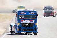 German driver Rene Reinert belonging German team Rene Reinert during the fist race R1 of the XXX Spain GP Camion of the FIA European Truck Racing Championship 2016 in Madrid. October 01, 2016. (ALTERPHOTOS/Rodrigo Jimenez) /NortePHOTO /NORTEPHOTO.COM