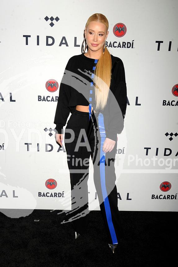 Iggy Azalea beim 3. TIDAL X Brooklyn Benefizkonzert im Barclay's Center. New York, 17.10.2017