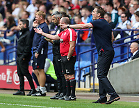 Bolton Wanderers' manager Phil Parkinson reacts<br /> <br /> Photographer Andrew Kearns/CameraSport<br /> <br /> The EFL Sky Bet Championship - Bolton Wanderers v Bristol City - Saturday August 11th 2018 - University of Bolton Stadium - Bolton<br /> <br /> World Copyright &copy; 2018 CameraSport. All rights reserved. 43 Linden Ave. Countesthorpe. Leicester. England. LE8 5PG - Tel: +44 (0) 116 277 4147 - admin@camerasport.com - www.camerasport.com